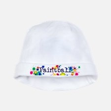 Paintball Paint Splatter baby hat