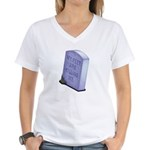 My Feet Women's V-Neck T-Shirt