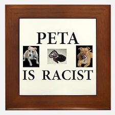 BAN PETA & BSL Framed Tile