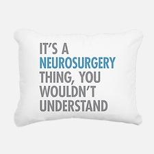 Neurosurgery Thing Rectangular Canvas Pillow