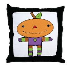 Primitive Doll Throw Pillow