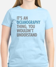 Oceanography Thing T-Shirt