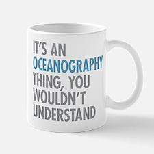 Oceanography Thing Mugs