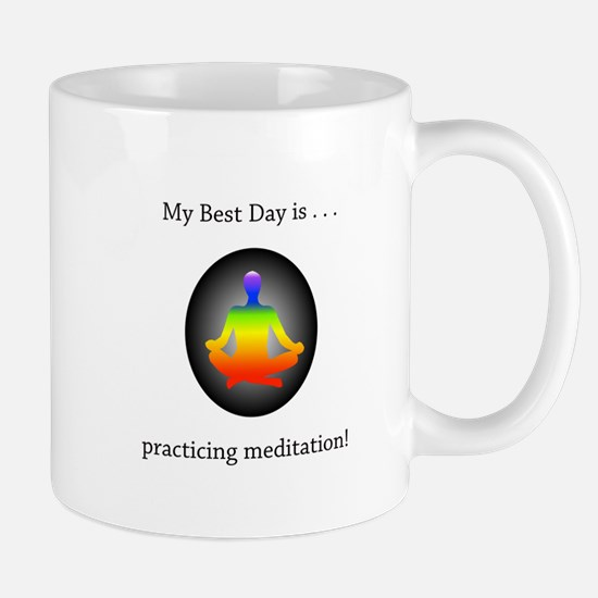 Best Day Rainbow Meditation Gifts Mugs