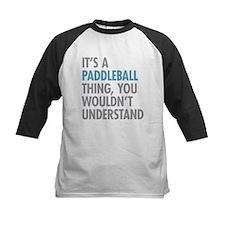 Paddleball Thing Baseball Jersey