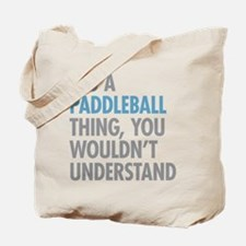 Paddleball Thing Tote Bag