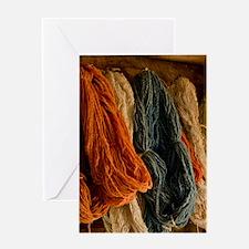 Organic Yarn Card Greeting Cards
