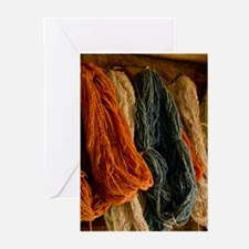 Organic Yarn Greeting Cards (pk Of 10)