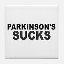 Parkinson's Sucks 1.2 Tile Coaster