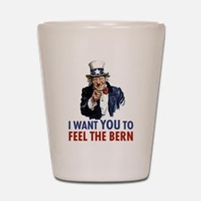 Bernie Uncle Sam Shot Glass