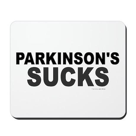 Parkinson's Sucks 1.2 Mousepad