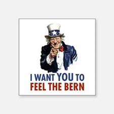 Bernie Uncle Sam Sticker