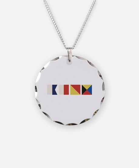 Nautical Flags Necklace