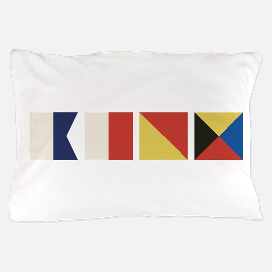 Nautical Flags Pillow Case