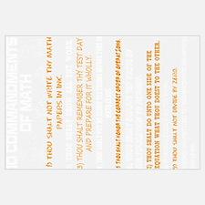 Math - 10 Commandments