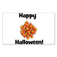 Happy Halloween! Rectangle Decal