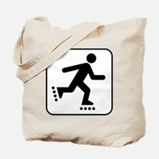 Rollerblade Park Symbol Tote Bag