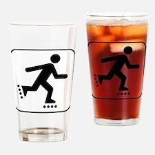 Rollerblade Park Symbol Drinking Glass