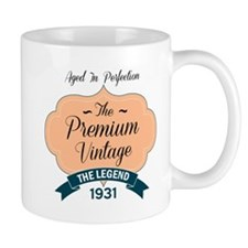 aged to perfection the premium vintage 19301 Mugs