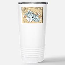 Kitsune Lovers Stainless Steel Travel Mug