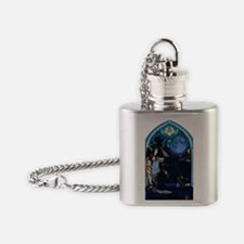 Window view Flask Necklace