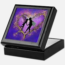 Kissing Fairies Keepsake Box