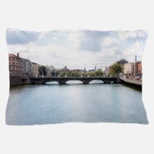 Downtown Dublin - Ireland Pillow Case