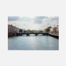 Downtown Dublin - Ireland Magnets