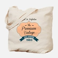 aged to perfection the premium vintage 1983 Tote B