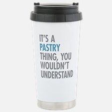 Pastry Thing Stainless Steel Travel Mug