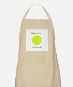 Best Day Playing Tennis Gifts Apron