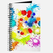 Paintball Splatter Wall Journal