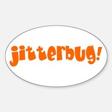 Cute Jitterbug Sticker (Oval)