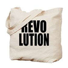 One Word Revolution Tote Bag