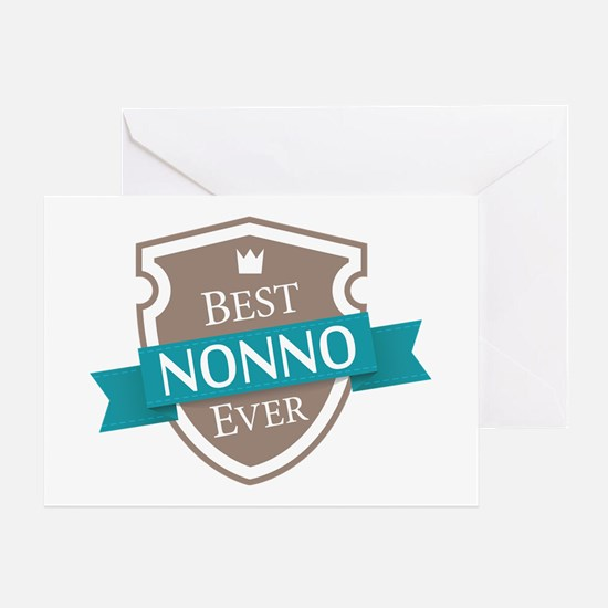 Best Nonno Ever Greeting Card