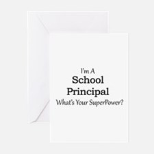 School Principal Greeting Cards