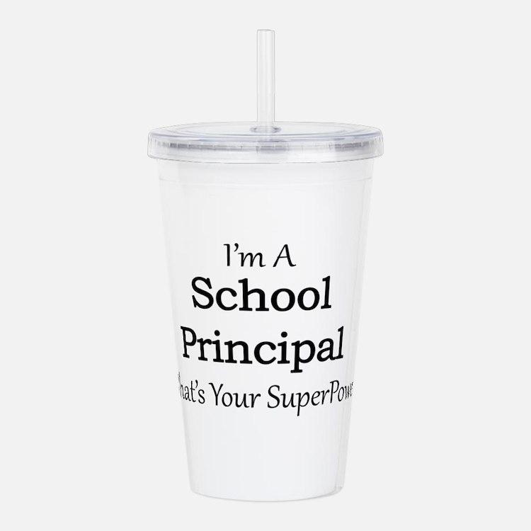 School Principal Acrylic Double-wall Tumbler