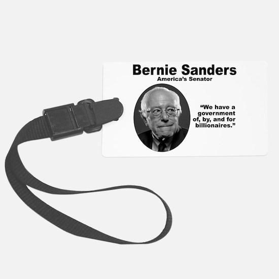 Sanders: Gov Luggage Tag