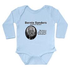 Sanders: Gov Long Sleeve Infant Bodysuit