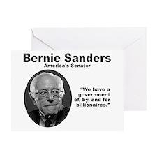 Sanders: Gov Greeting Card