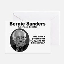 Sanders: Gov Greeting Card