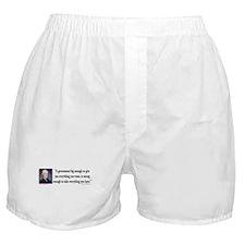 Thomas Jefferson Quote Boxer Shorts