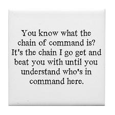 command  Tile Coaster