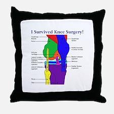 Knee Surgery Gift 12 Throw Pillow
