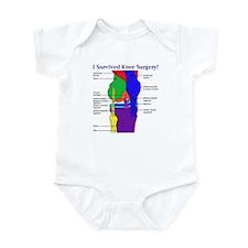 Knee Surgery Gift 12 Infant Bodysuit