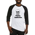 Happy Halloween (skull) Baseball Jersey