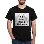 Happy Halloween (skull) Dark T-Shirt