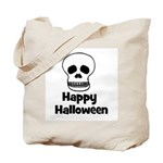 Happy Halloween (skull) Tote Bag