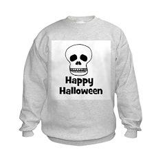 Happy Halloween (skull) Sweatshirt