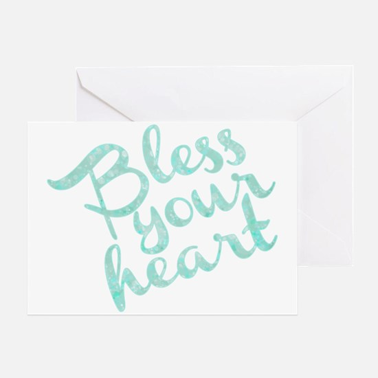 Unique Bless your heart Greeting Card